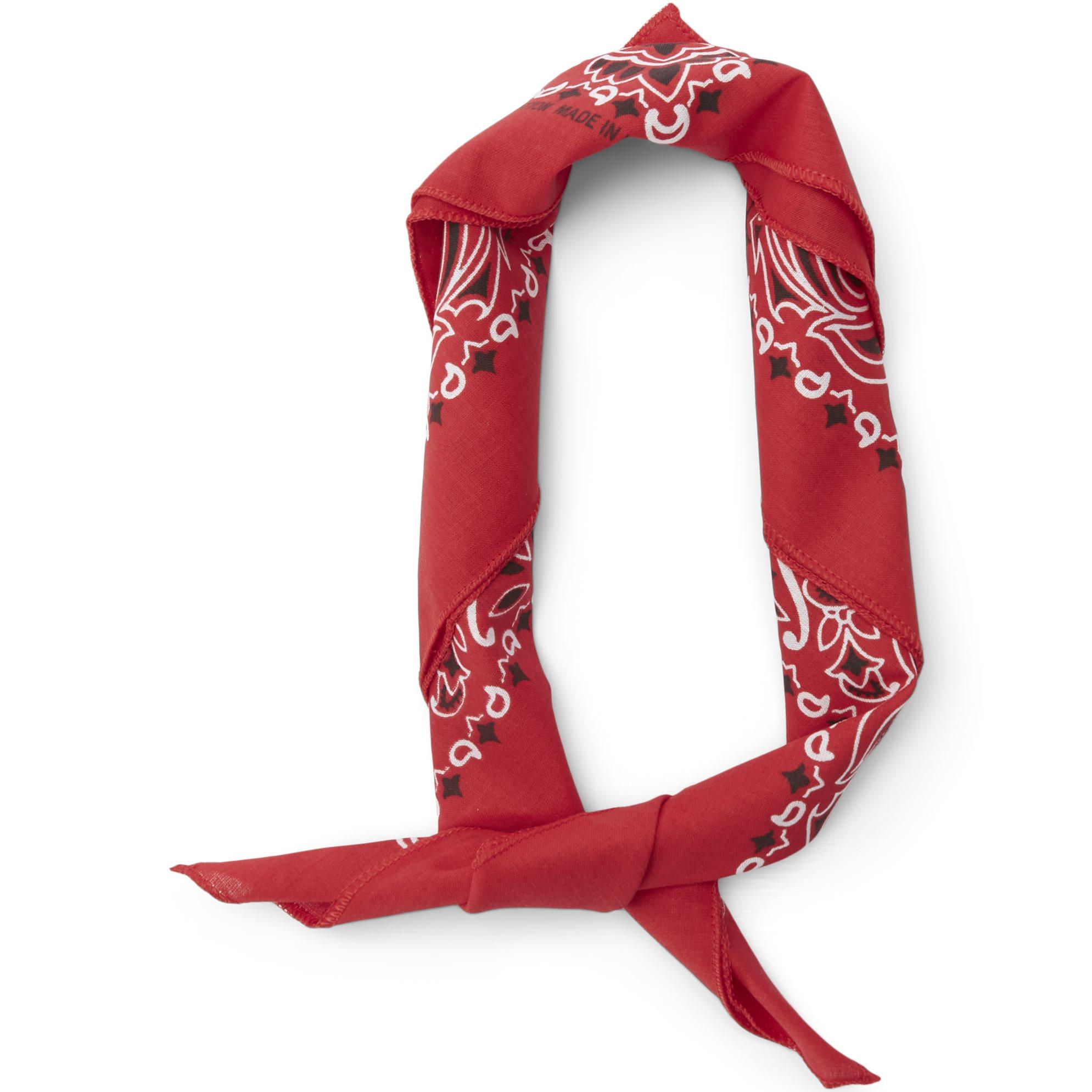 Halsdukar - Röd