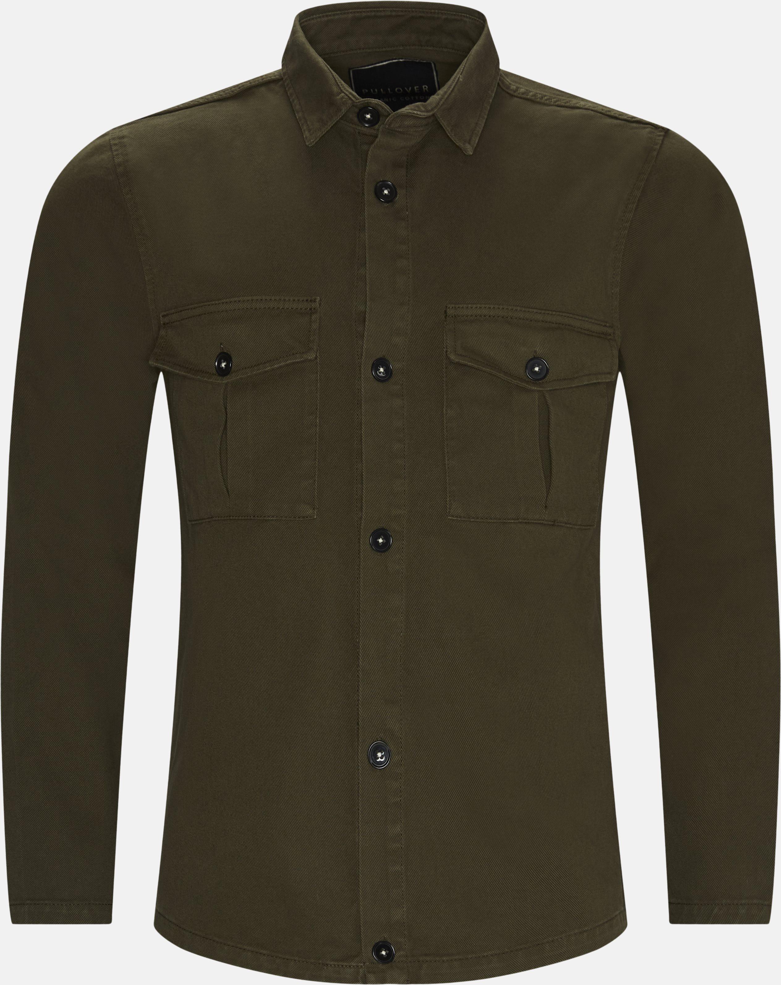 Overshirt  - Skjorter - Regular fit - Army