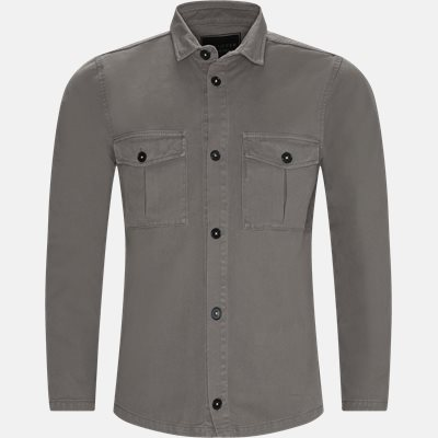 Regular fit | Shirts | Grey