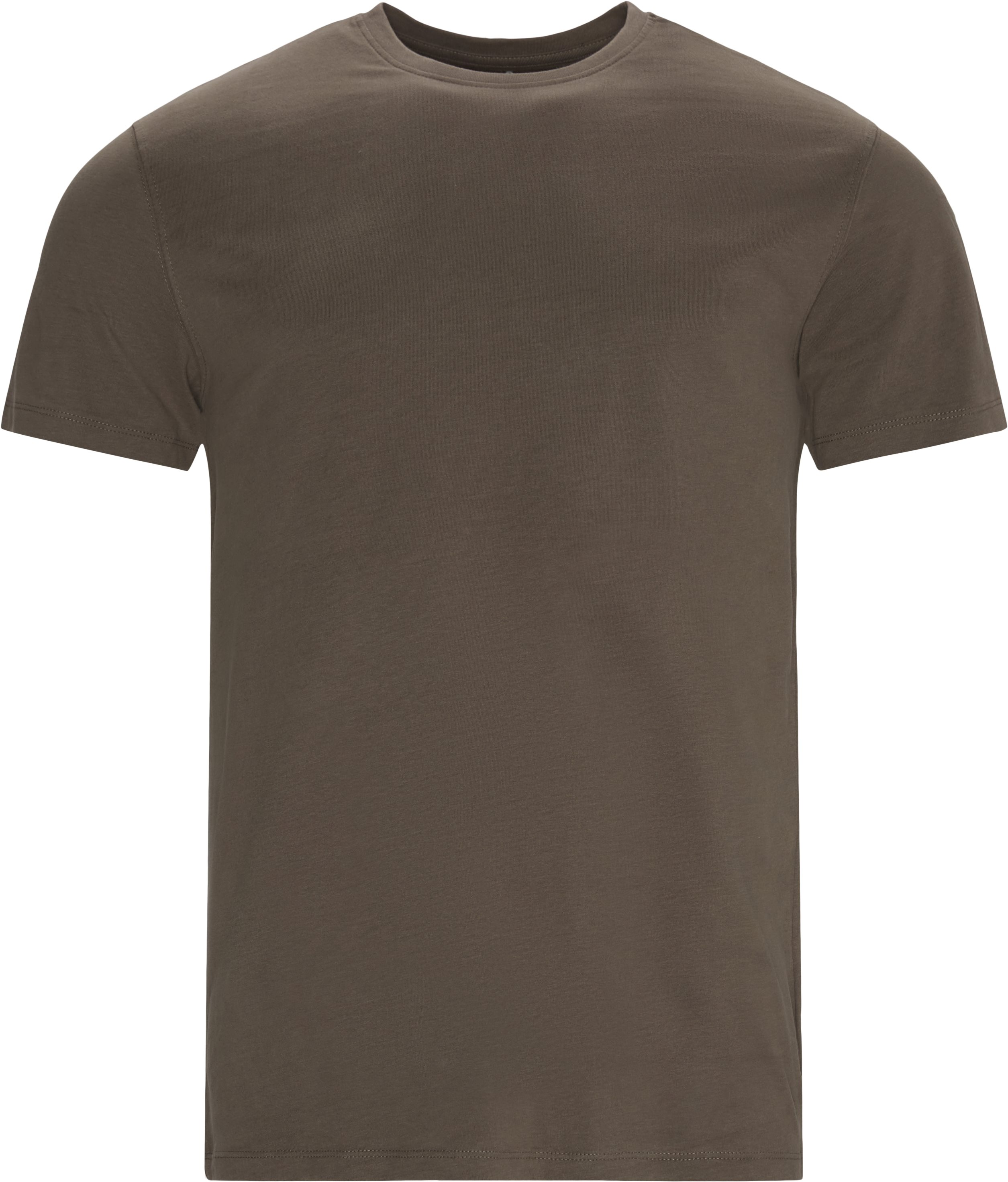 Brandon Crew Neck Tee - T-shirts - Regular - Army