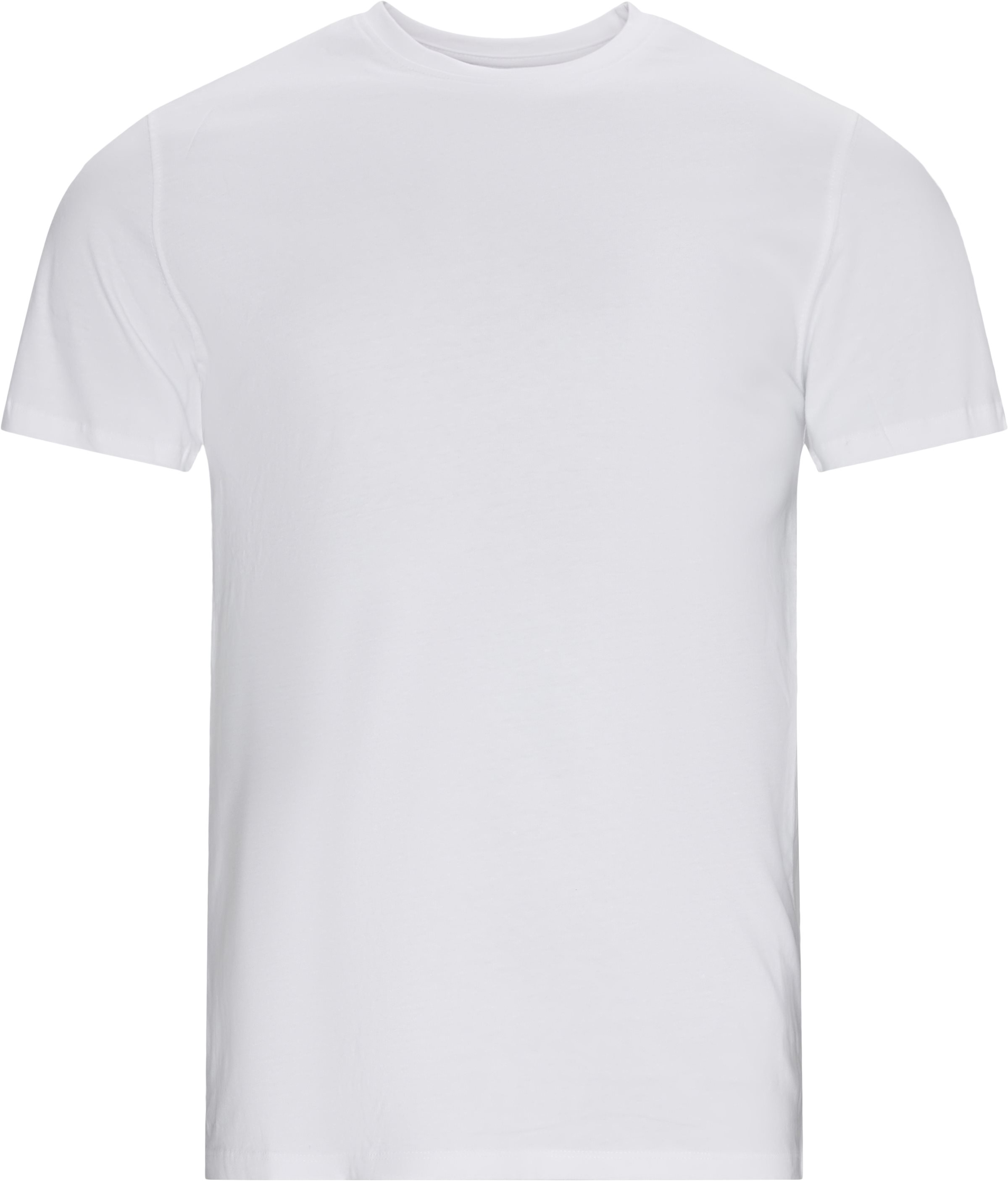 Brandon Crew Neck Tee - T-shirts - Regular - Hvid