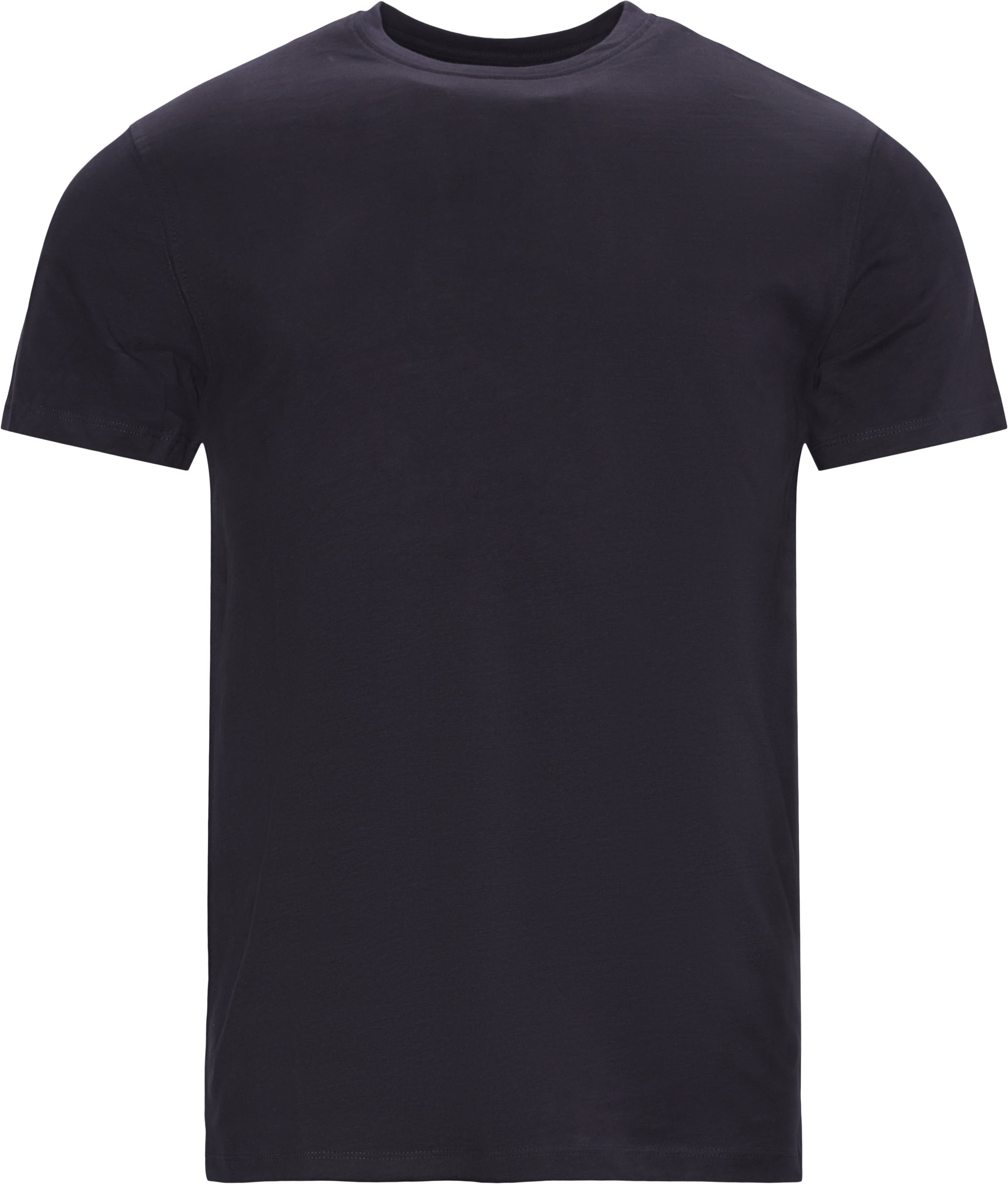 Brandon Crew Neck Tee - T-shirts - Regular - Blå