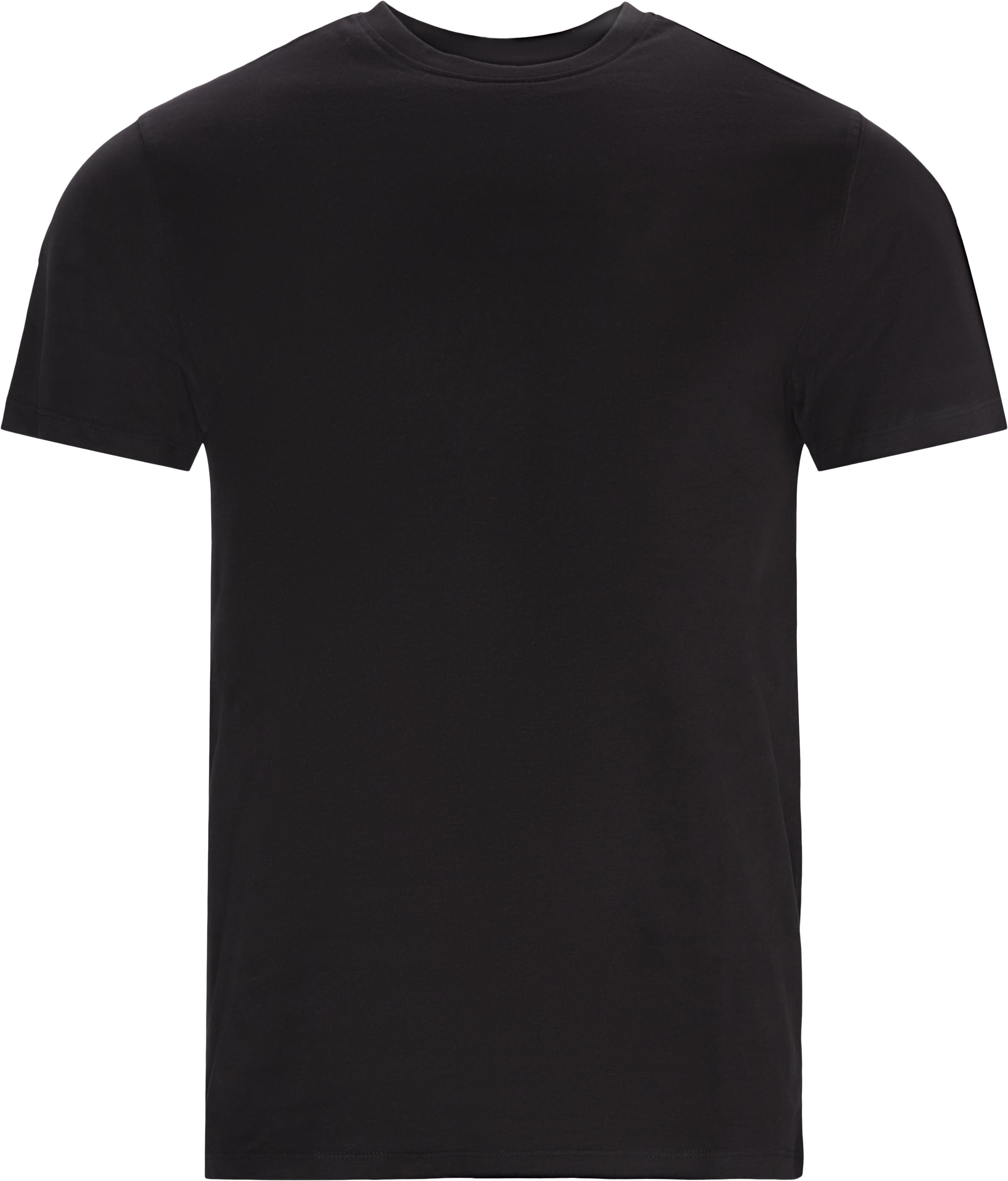 Brandon Crew Neck Tee - T-shirts - Regular - Sort