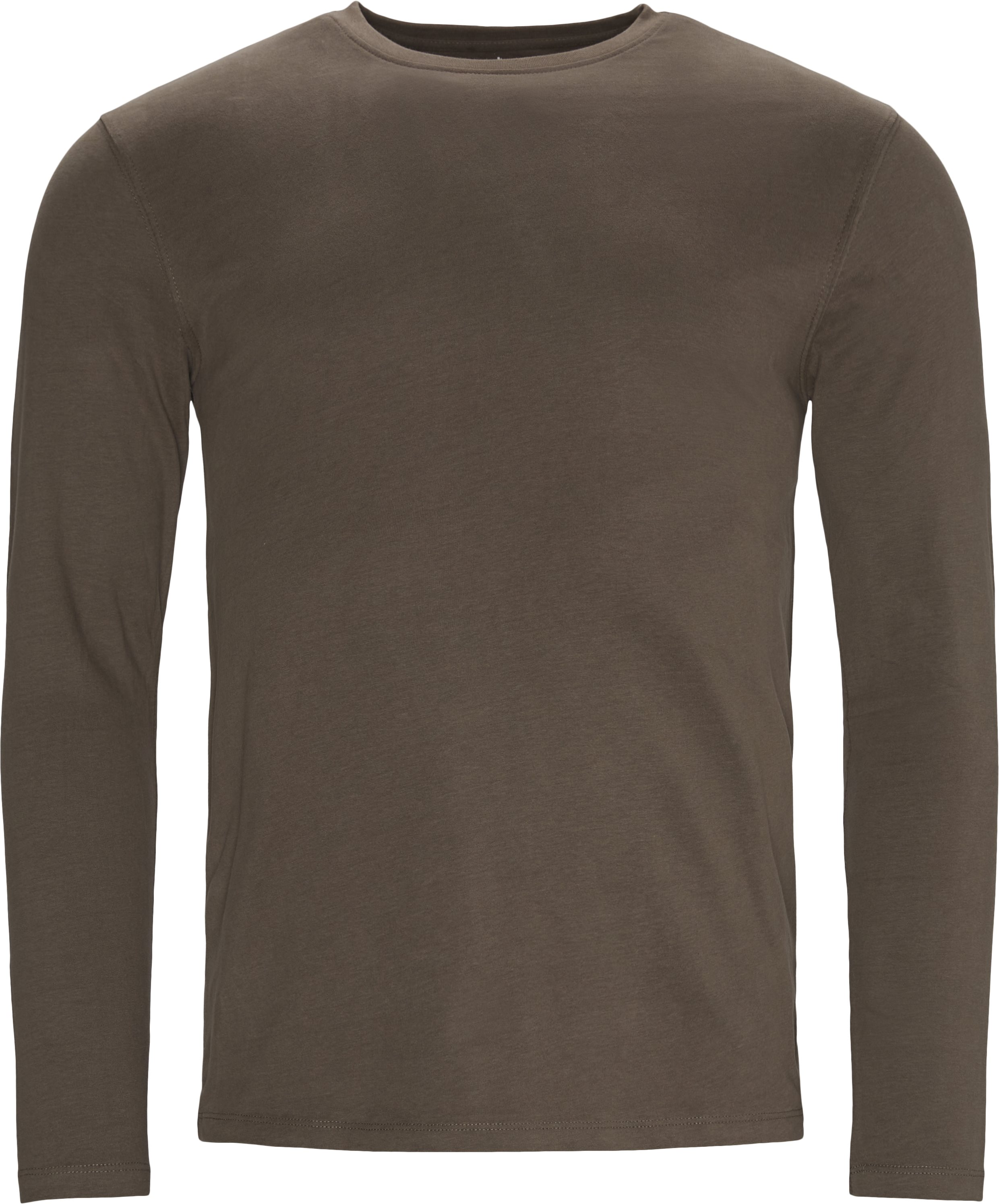 Ray Long Sleeve Tee - T-shirts - Regular - Army