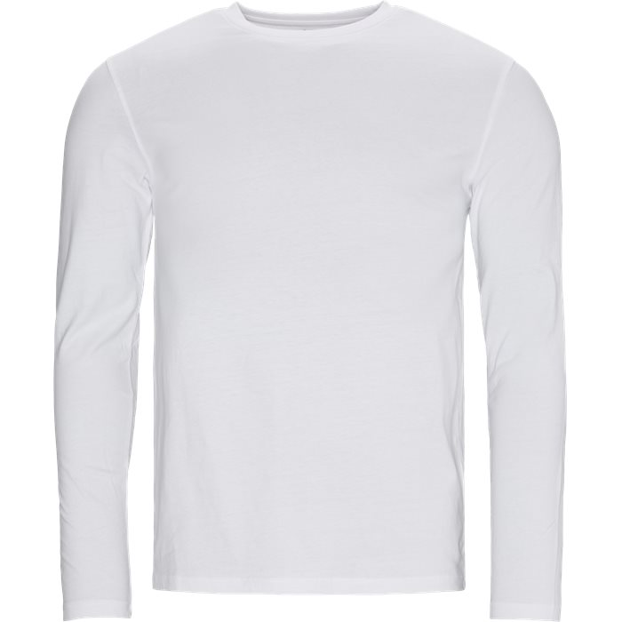 Ray Long Sleeve Tee - T-shirts - Regular - Hvid