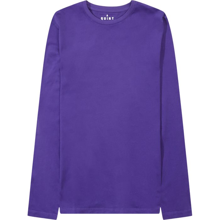 Ray Long Sleeve Tee - T-shirts - Regular - Lilla