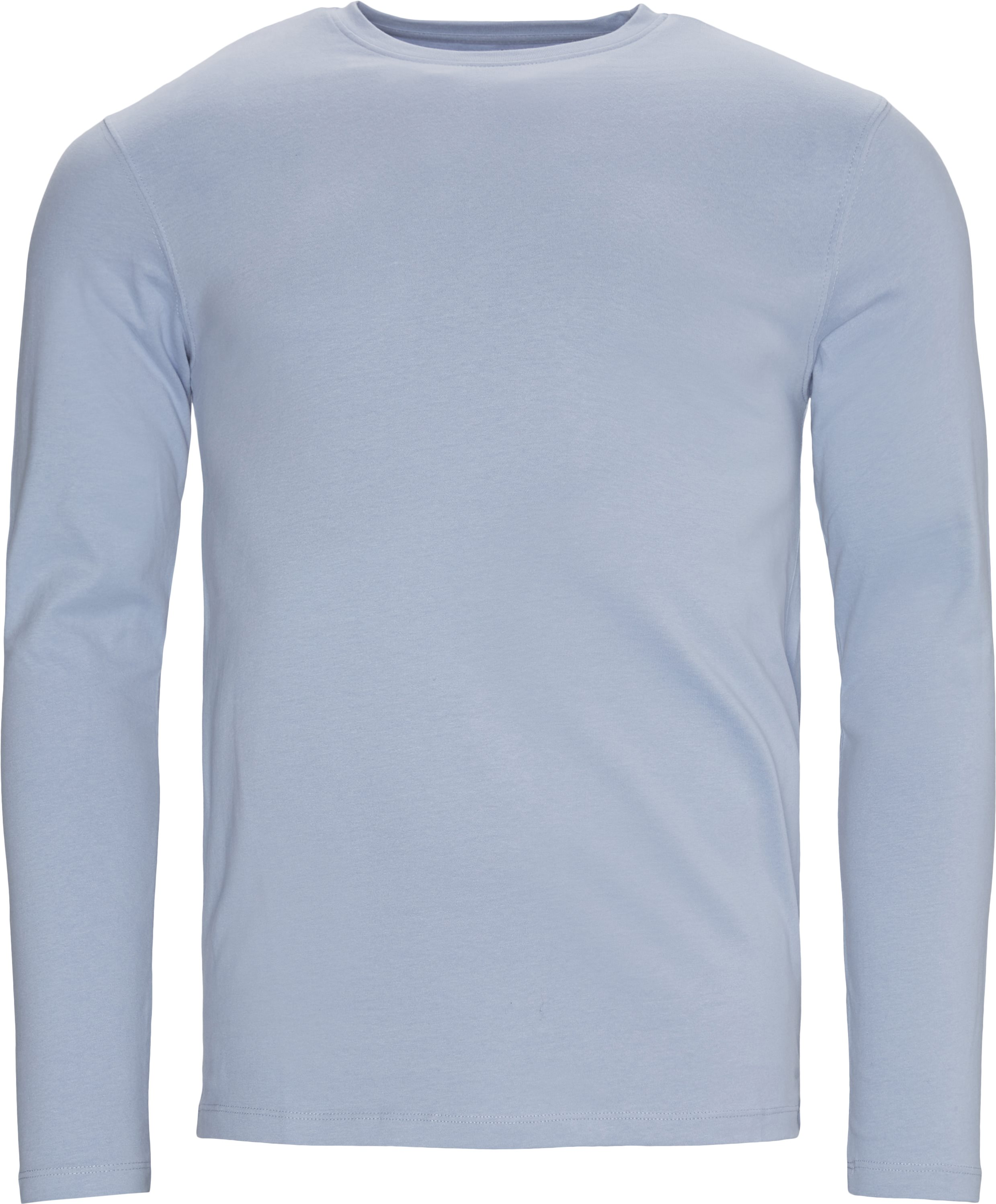 Ray Long Sleeve Tee - T-shirts - Regular - Blå