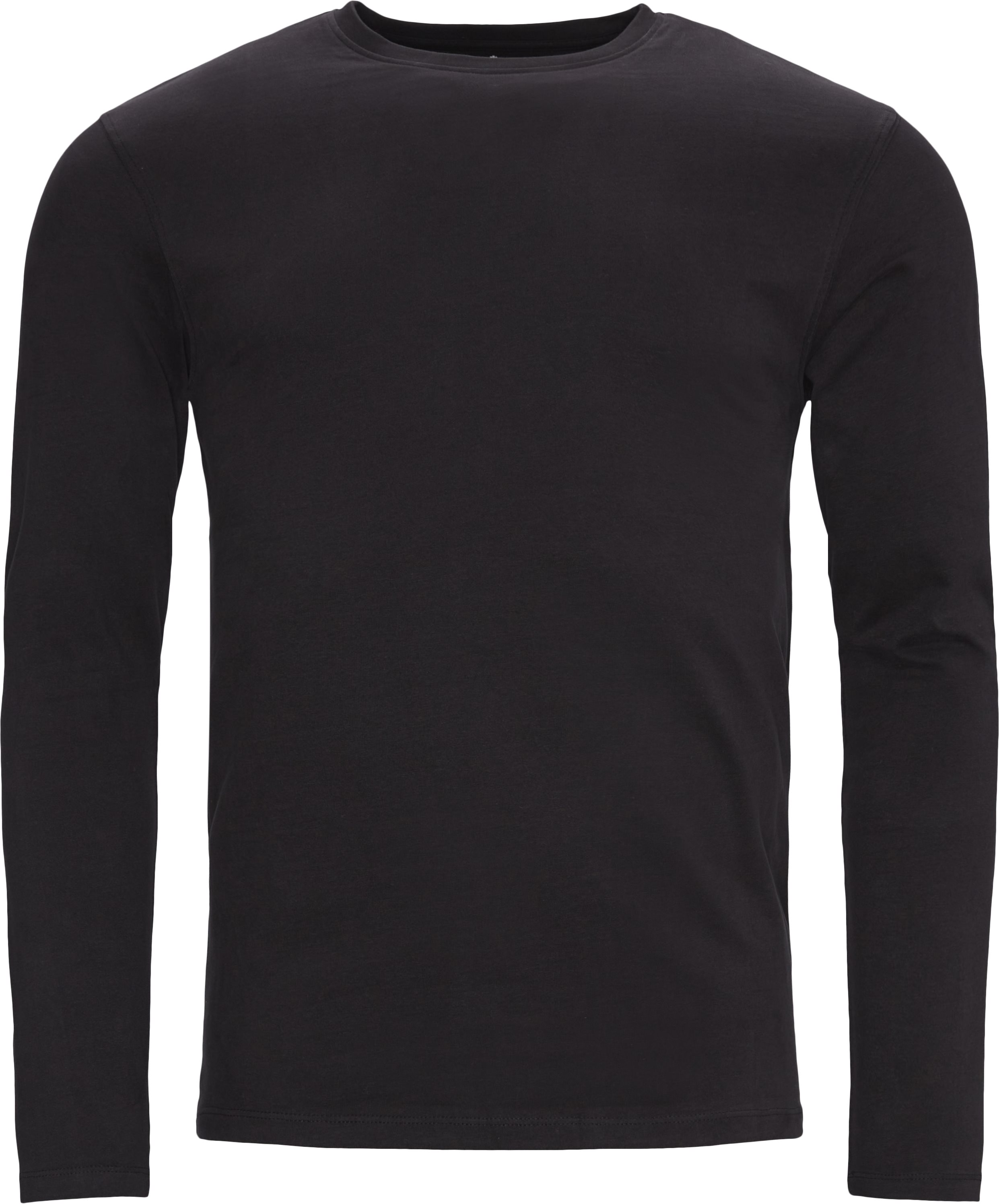 Ray Long Sleeve Tee - T-shirts - Regular - Sort