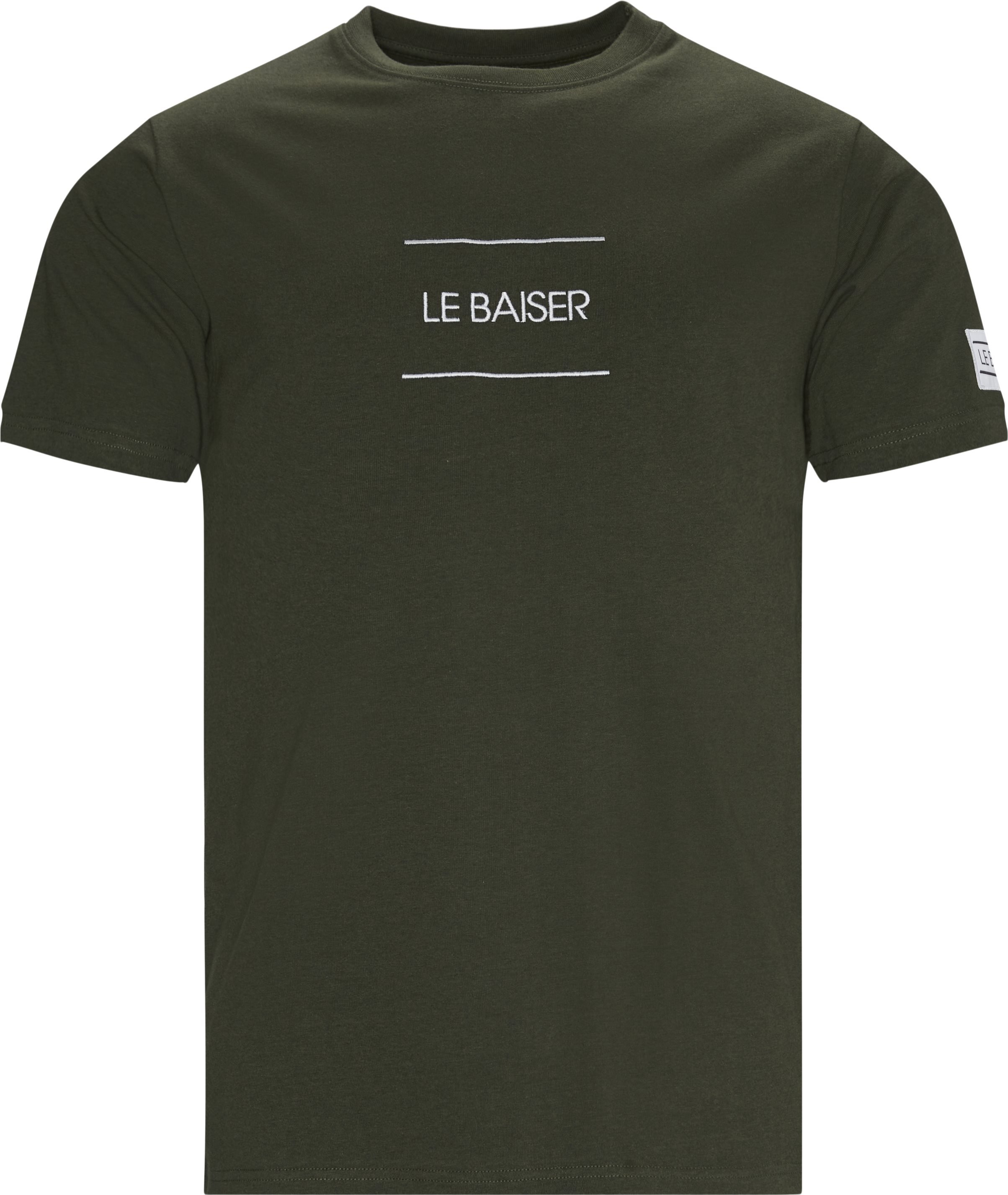 Caen T-shirt - T-shirts - Regular - Army