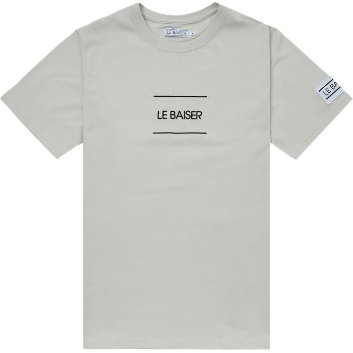 Caen T-shirt - T-shirts - Regular - Sand