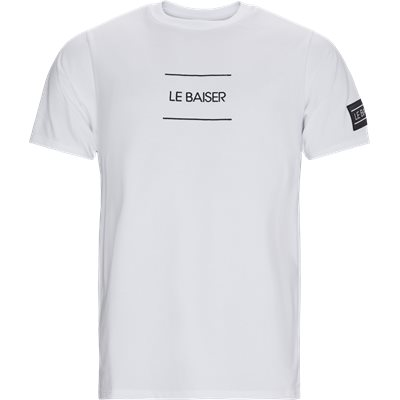 Caen T-shirt Regular | Caen T-shirt | Hvid