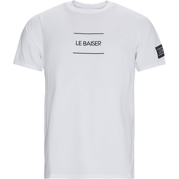 Caen T-shirt - T-shirts - Regular - Vit