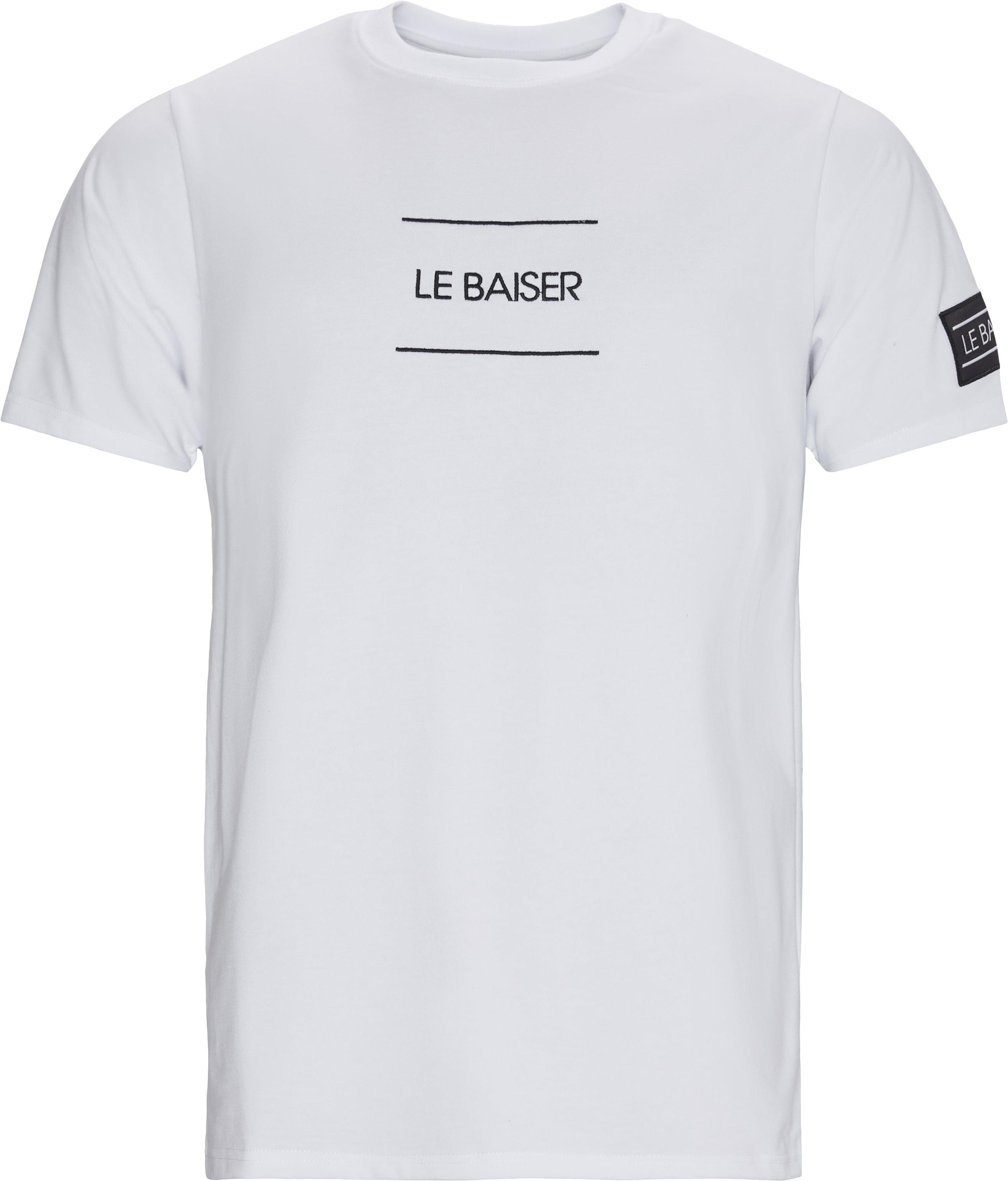 Caen T-shirt - T-shirts - Regular - Hvid