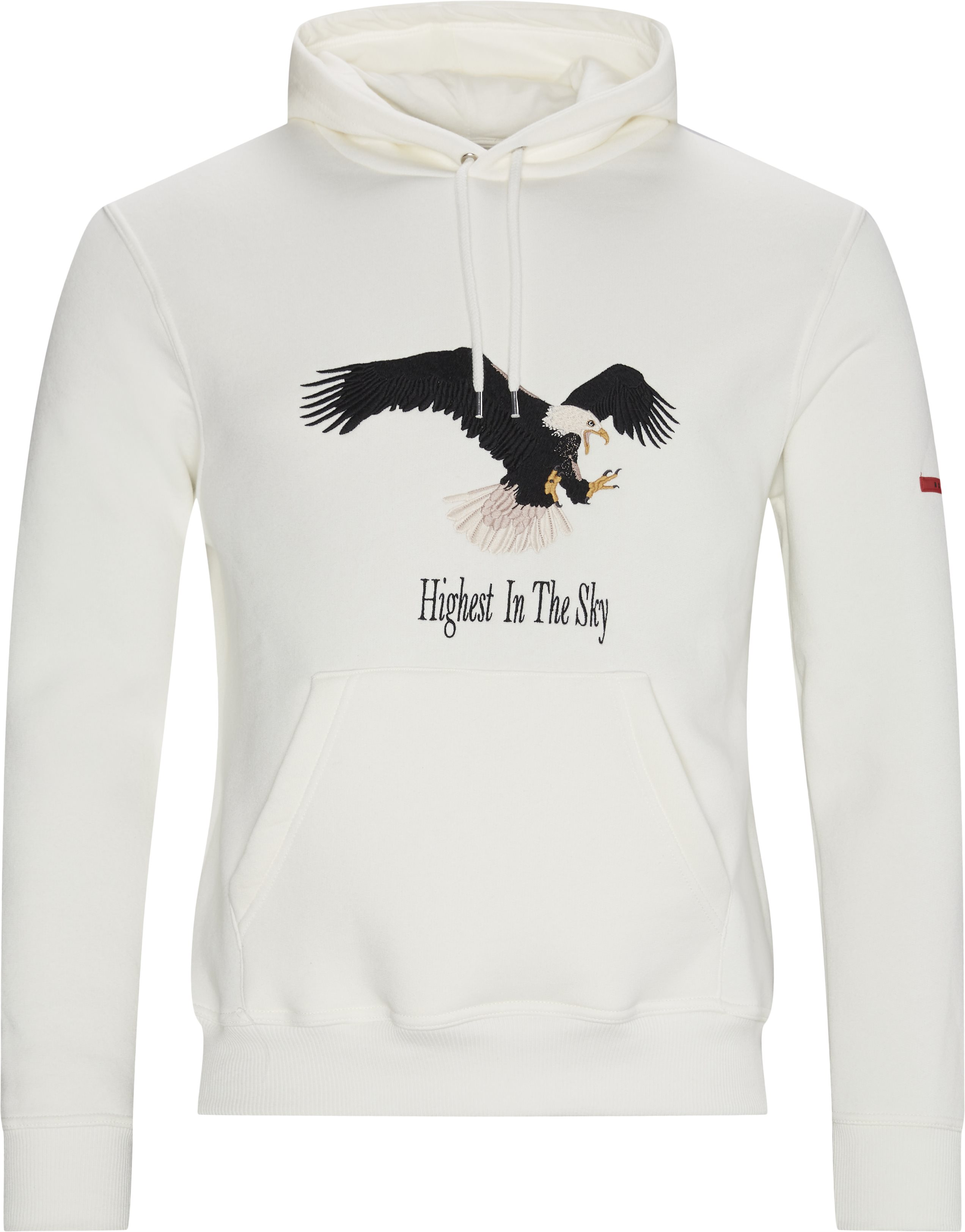Eagle Hoodie - Sweatshirts - Regular - Sand