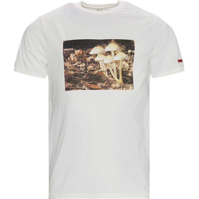 Mushroom Tee - T-shirts - Regular - Sand