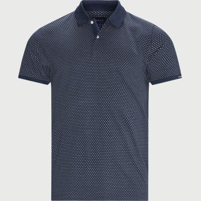 Mini Jacquard Polo T-shirt Regular | Mini Jacquard Polo T-shirt | Denim