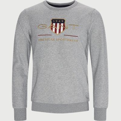 Archive Shield Logo Crewneck sweatshirt Regular | Archive Shield Logo Crewneck sweatshirt | Grå