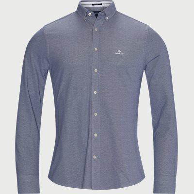 TP Pique Solid Slim Shirt Slim | TP Pique Solid Slim Shirt | Blå