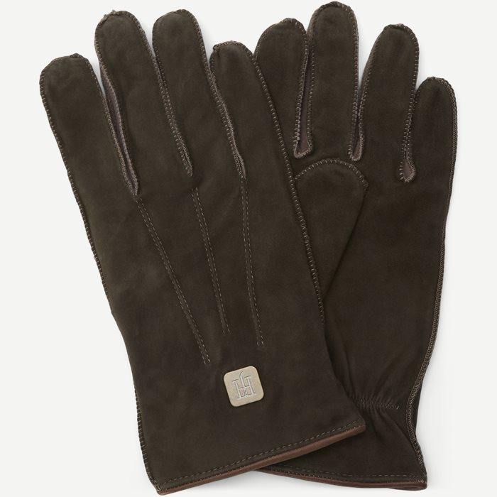 Suede Gloves - Gloves - Green