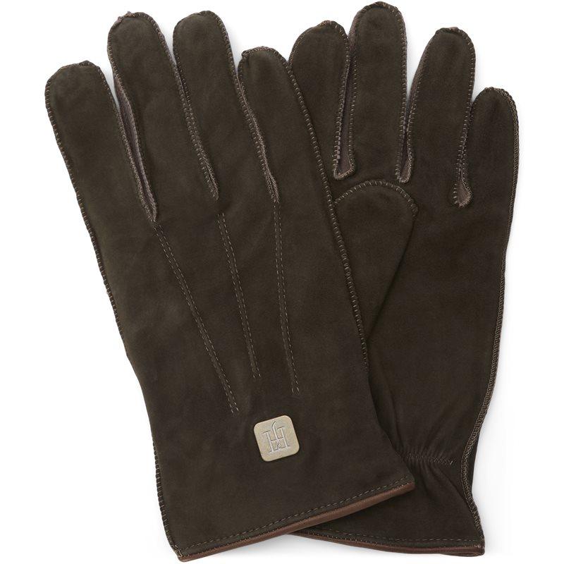 Hansen & jacob - 06281 suede gloves handsker fra hansen & jacob fra kaufmann.dk