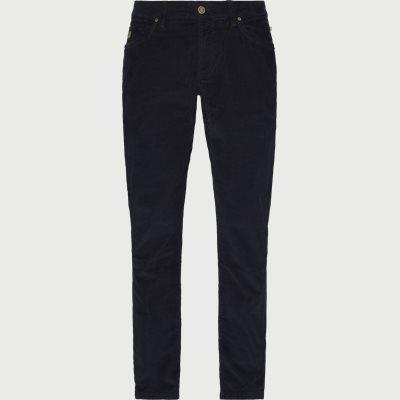 5-Pocket Cut'N Sew Baby Cord Jeans Slim | 5-Pocket Cut'N Sew Baby Cord Jeans | Blå