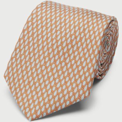 A Chains Tie 7,5 cm A Chains Tie 7,5 cm | Grå