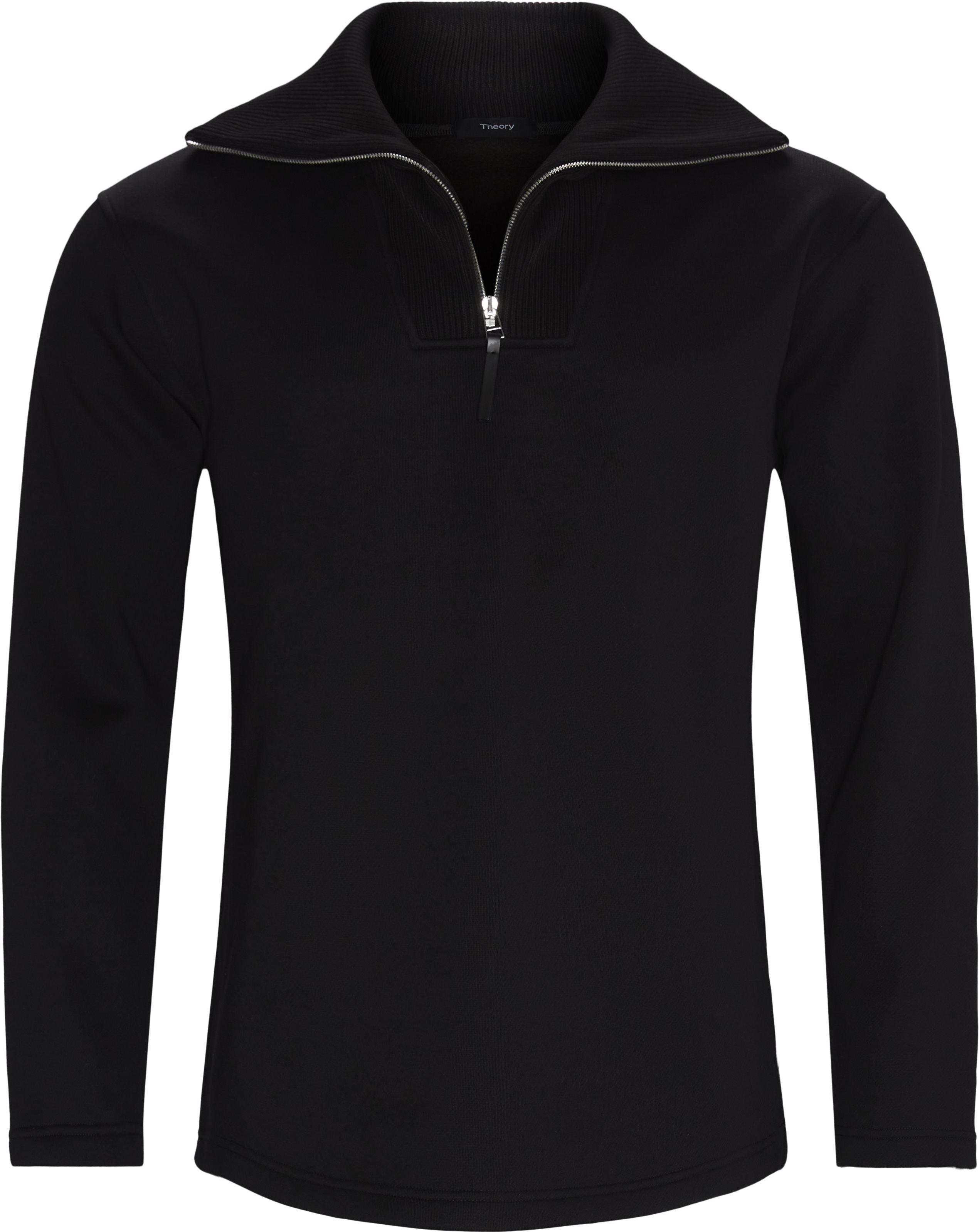 Camner Sweatshirt - Strik - Regular fit - Sort