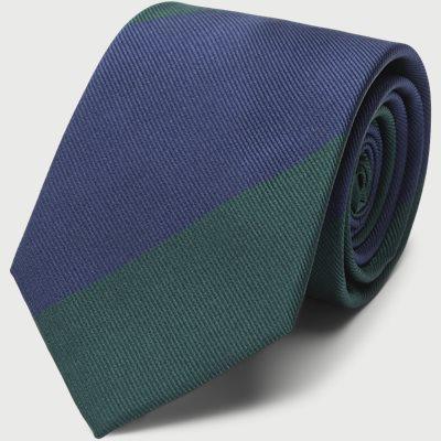 Block Silk Tie 7,5 cm Block Silk Tie 7,5 cm | Grøn