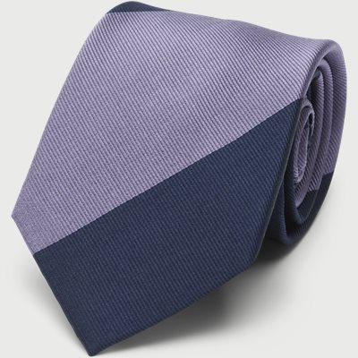 Block Silk Tie 7,5 cm Block Silk Tie 7,5 cm | Blå