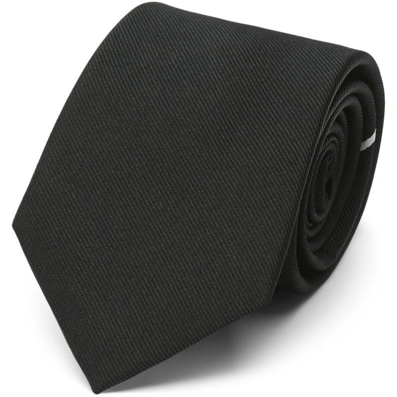 An Ivy - The Black Draper Tie 7,5 cm