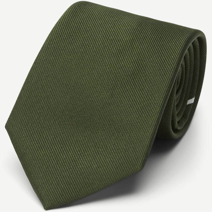 The Green Draper Tie 7,5 cm - Slipsar - Armé