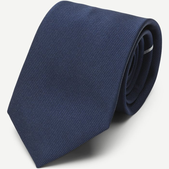 The Navy Draper Tie 7,5 cm - Ties - Blue