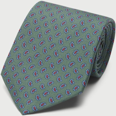 The Green Printed Counselor Tie 8 cm The Green Printed Counselor Tie 8 cm | Grøn