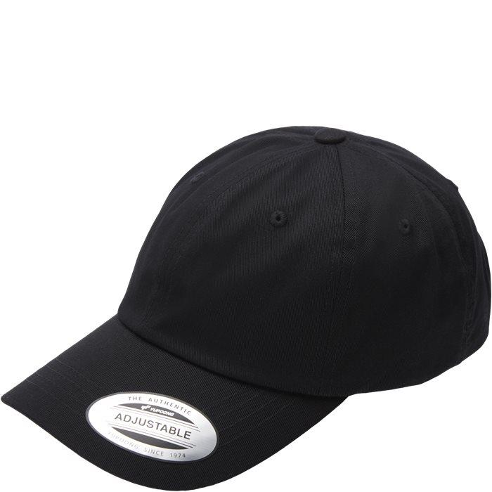 Low Profile Cotton Twill Cap - Caps - Black