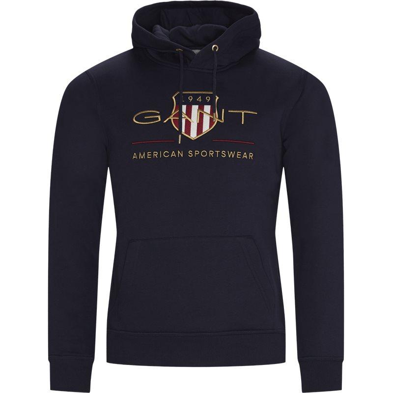gant – Gant - archive shield hoodie på kaufmann.dk