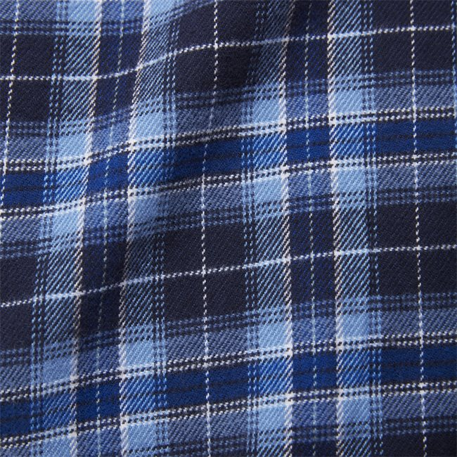 Flannel Check Skjorte