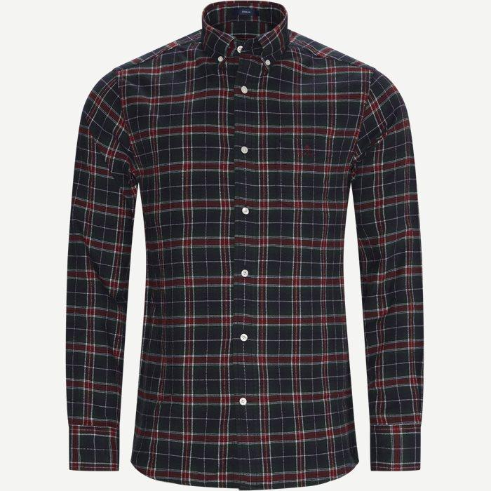 Hemden - Regular - Rot