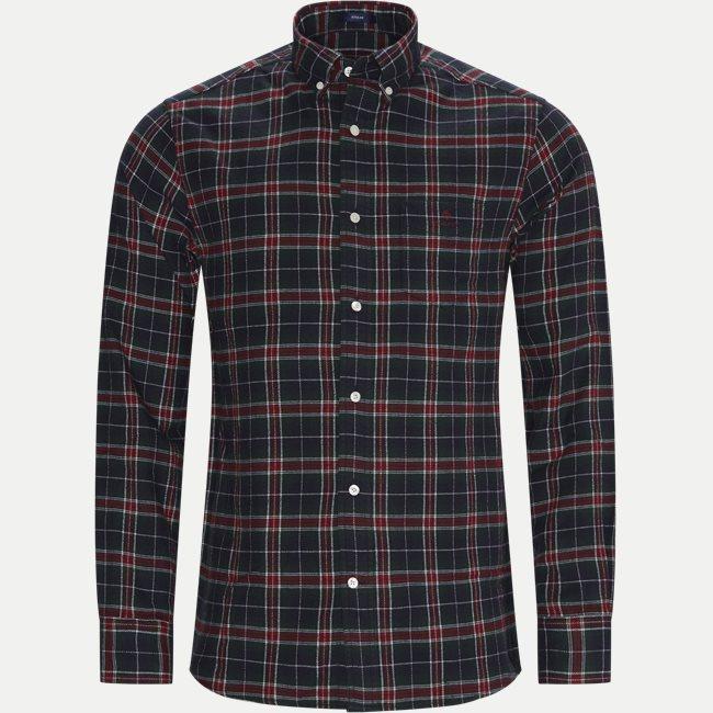Flannel Check Skjorte