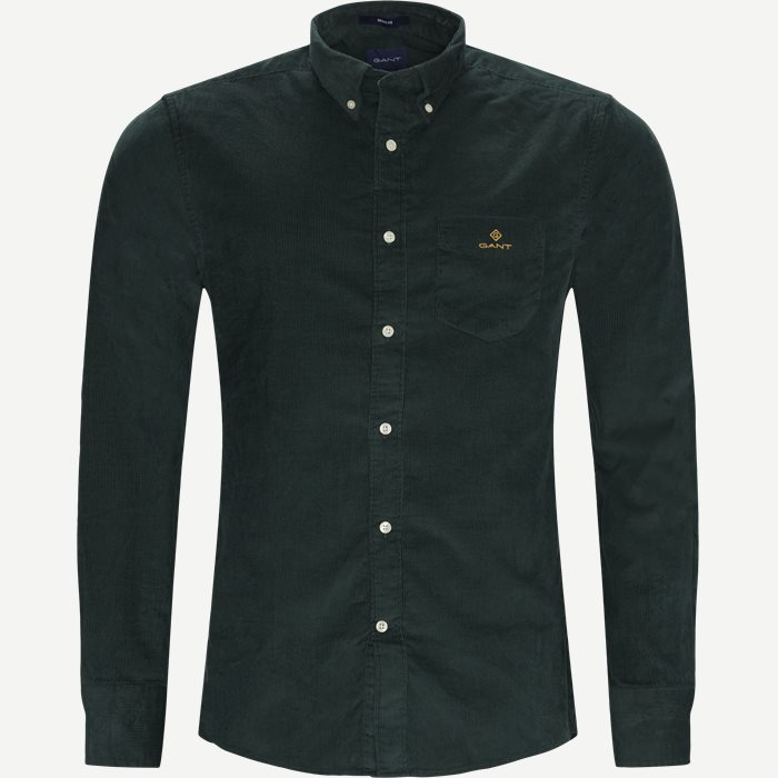 Corduroy Shirt - Shirts - Regular - Green