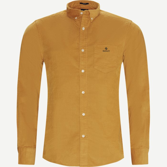 Corduroy Shirt - Skjorter - Regular - Gul