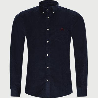 Corduroy Shirt Regular | Corduroy Shirt | Blå