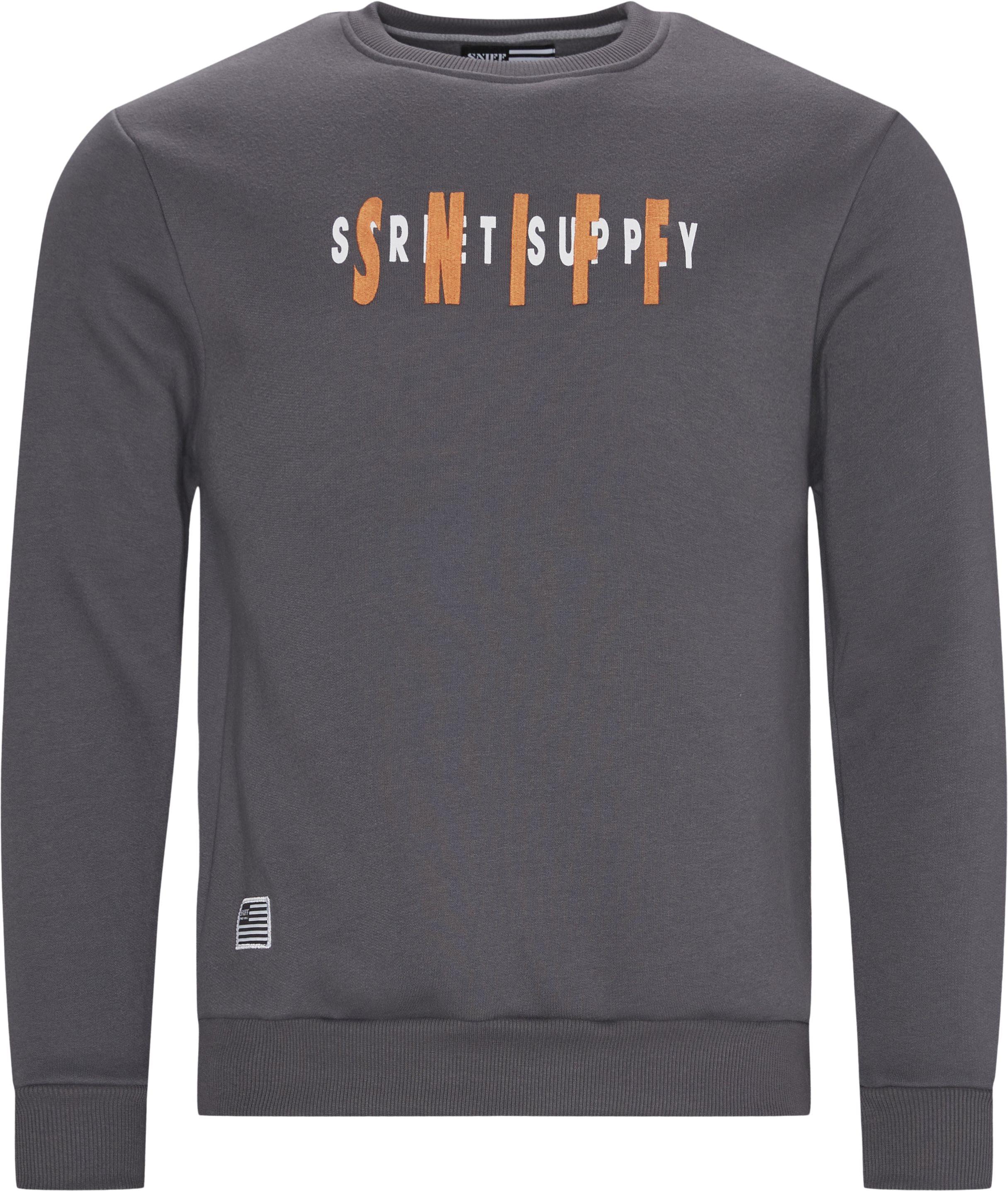 Biden Crewneck Sweatshirt - Sweatshirts - Regular - Grå