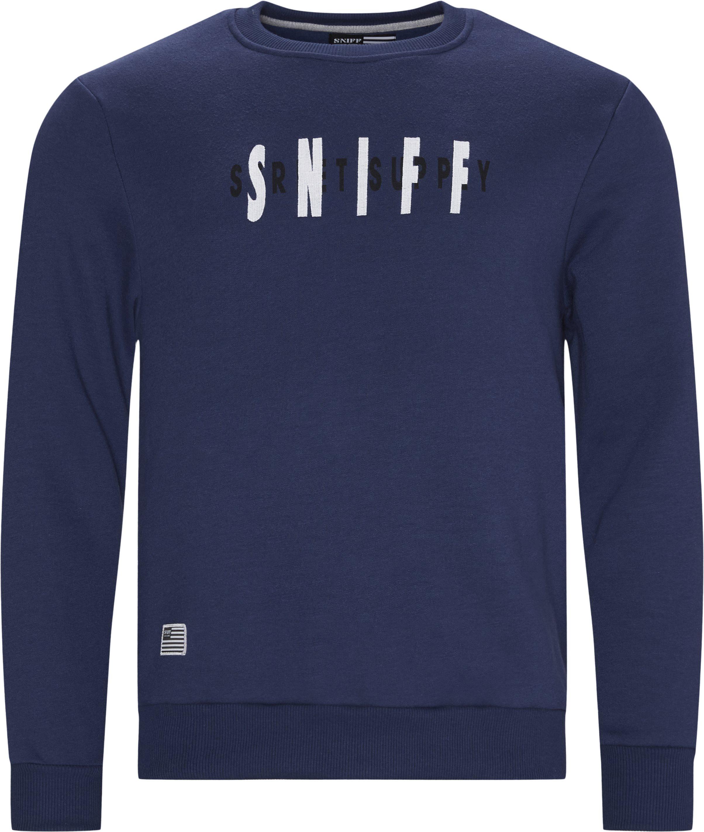 Biden Crewneck Sweatshirt - Sweatshirts - Regular - Blå