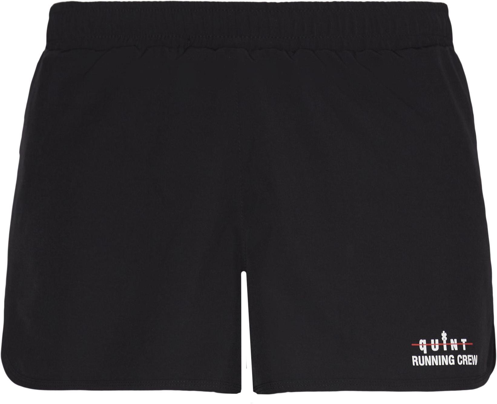 Quint Running Crew Skip Shorts - Shorts - Regular fit - Sort