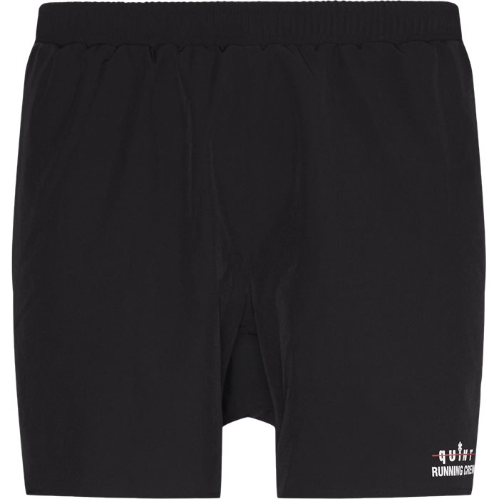 Quint Running Crew Scott Shorts - Shorts - Regular - Svart