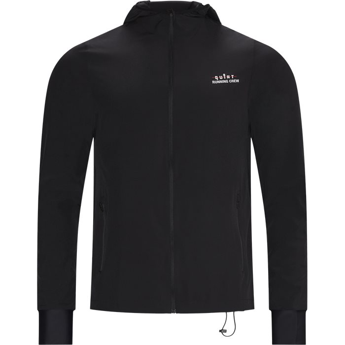 Quint Running Crew Jacket - Jackor - Regular - Svart