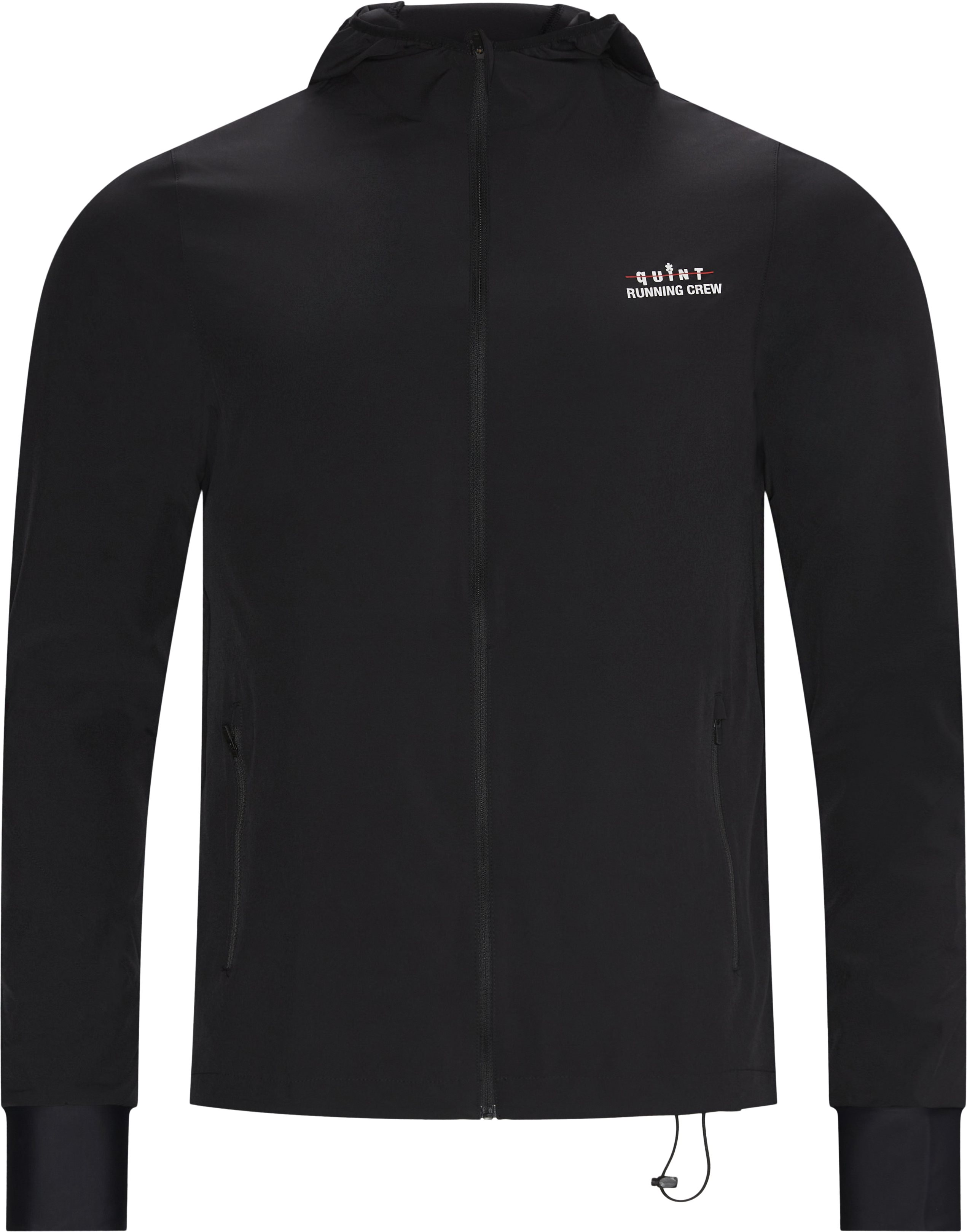 Quint Running Crew Jett Jacket - Jakker - Regular - Sort