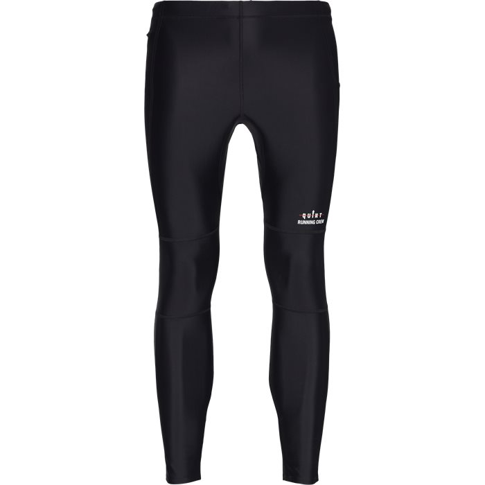 Quint Running Crew Ted Tights - Byxor - Svart