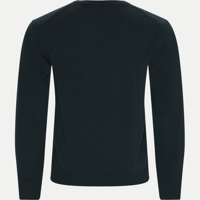 Superfine Lambswool Crew Neck Striktrøje