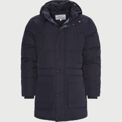 Long Alta Down Jacket Regular | Long Alta Down Jacket | Blå